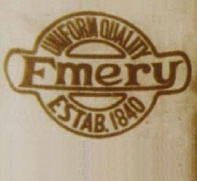 Emery logo Estab 1840