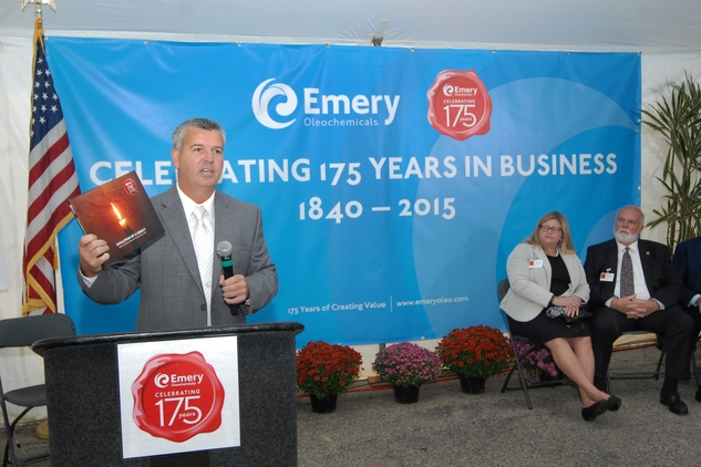 Emery Oleochemicals reinforces its commitment to growth at 175th year anniversary celebrations