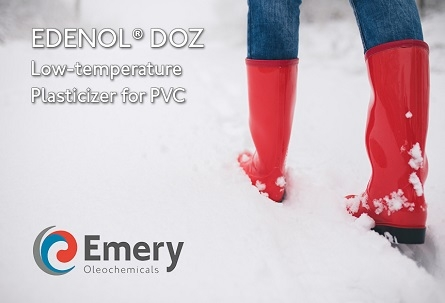 Emery Oleochemicals Announces New High-Performance Plasticizer, EDENOL® DOZ