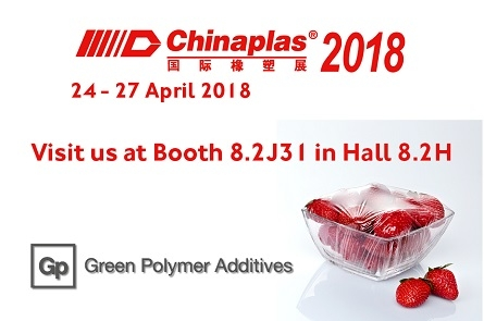 Emery Oleochemicals' Green Polymer Additives business to feature high-performance antifogging and antistatic agents at Chinaplas 2018