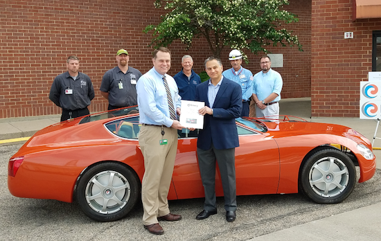Emery Oleochemicals Supports Great Oaks Career Campuses with One-of-a-Kind, Concept Car Donation