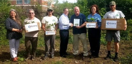 Emery Oleochemicals Donates Oak Tree Seedlings to Mill Creek Alliance in Celebration of Earth Day 2019