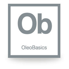 Grey Oleo Basics Logo