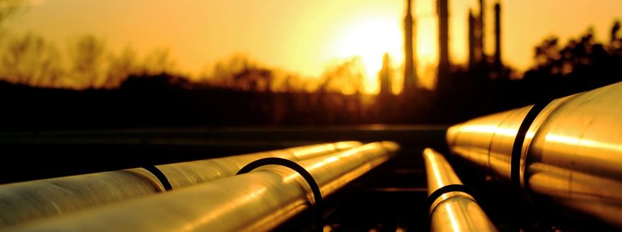 pipeline at dawn