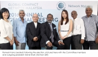 Ramesh Kana Elected President of Global Compact Network Malaysia
